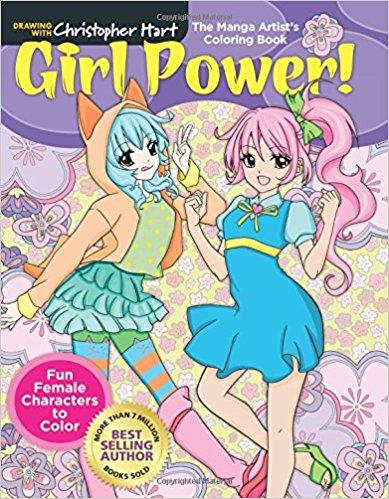 Christopher Hart Books How To Draw Manga Figures Animals Cartoons