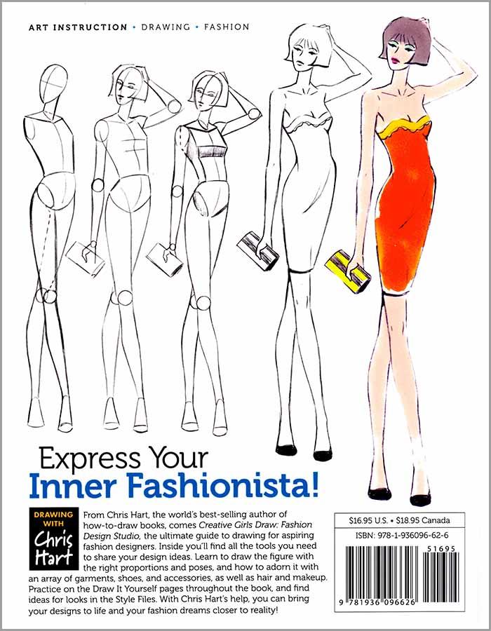 Fashion Design Studio Christopher Hart Books